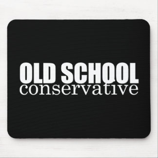 ANTI-OBAMA- Old School Conservative Mouse Pads