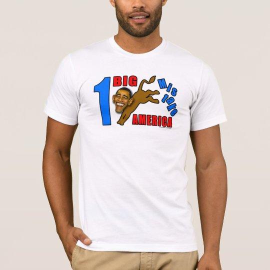"anti Obama ""One Big Ass Mistake America"" T-shirt"