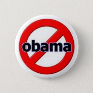 Anti-Obama Pinback Button