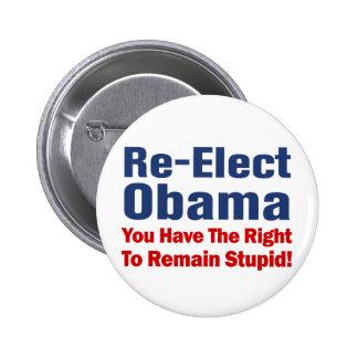 Anti Obama Pinback Button