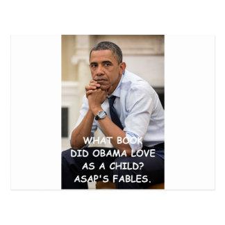 anti obama postcard