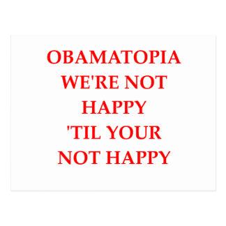 anti-obama postcard