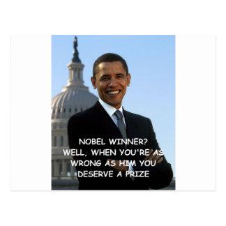 anti obama post card