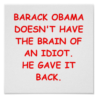 anti obama posters