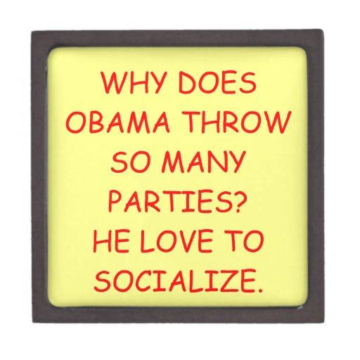 anti obama premium jewelry box