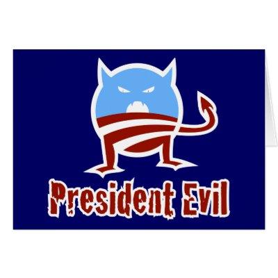 president evil obama