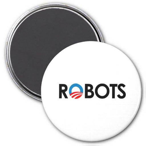 ANTI-OBAMA - ROBOTS BLACK-.png Iman Para Frigorífico