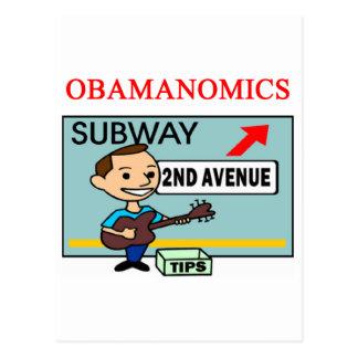 anti obama shirt postcard