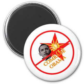 Anti-Obama Socialism 2 Inch Round Magnet