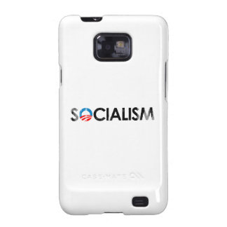 ANTI-OBAMA - SOCIALISM BLACK- Faded.png Samsung Galaxy S2 Cases