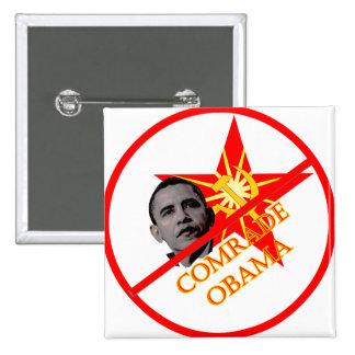 Anti-Obama Socialism Pin