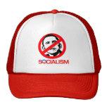 Anti-Obama - socialismo del final Gorra