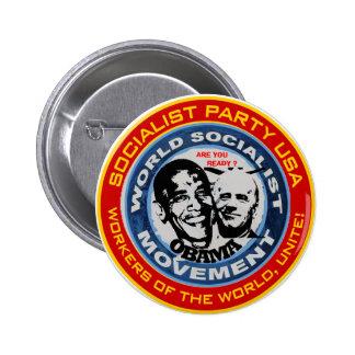 anti obama socialist jugate button