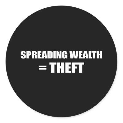 thief Obama spread the wealth