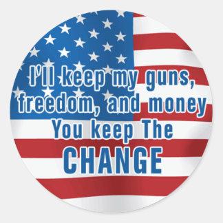 Anti-Obama Sticker