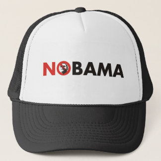 anti obama stop sign 2 trucker hat