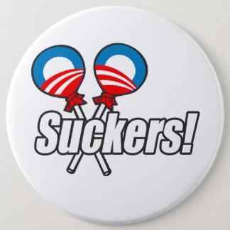 Anti-Obama - Suckers Button