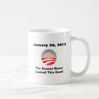 Anti-Obama Sunset and Change Coffee Mug