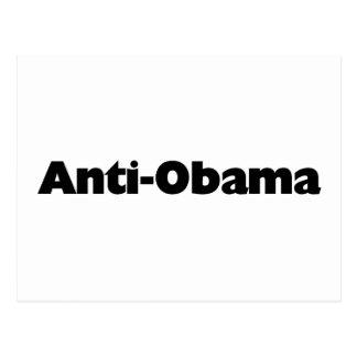 Anti - Obama T-shirt and gift design Postcard