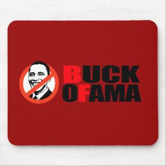 Anti-Obama T-shirt - Buck Ofama Mouse Pad