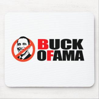 Anti-Obama T-shirt - Buck Ofama Mouse Mat