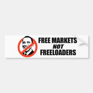 Anti-Obama T-shirt - Free Markets Bumper Sticker