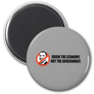 Anti-Obama T-shirt - Grow the economy Fridge Magnets