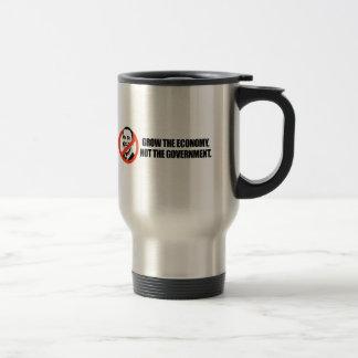 Anti-Obama T-shirt - Grow the economy Mug