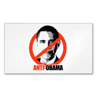 Anti-Obama Tarjetas De Visita Magnéticas (paquete De 25)