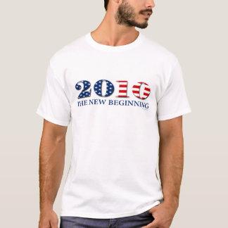 """Anti Obama """"The New Beginning"""" T-shirt"""