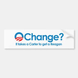 Anti-Obama - toma un Carretero para conseguir a un Etiqueta De Parachoque