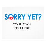 Anti-Obama - triste todavía Invitación
