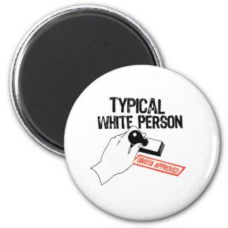 ANTI-OBAMA / TYPICAL WHITE PERSON MAGNET