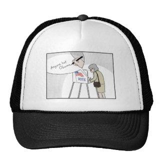 "Anti-Obama Voters say:  ""Anyone But Obama"" Trucker Hat"