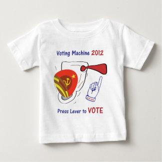 Anti Obama Voting Machine Light Background Baby T-Shirt