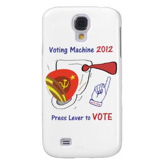 Anti Obama Voting Machine Light Background Samsung Galaxy S4 Case