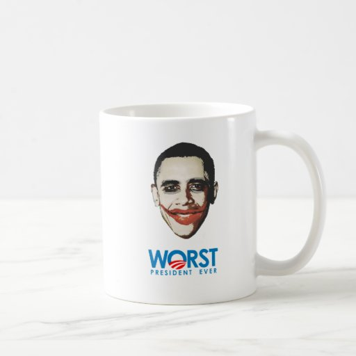 Anti-Obama - Worst President Ever Classic White Coffee Mug