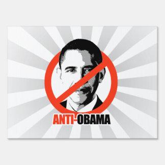 Anti-Obama Yard Sign