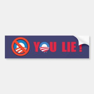 Anti-Obama - You Lie Bumper Sticker