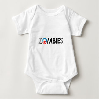 ANTI-OBAMA - ZOMBIES BLACK (2)- Faded.png Baby Bodysuit