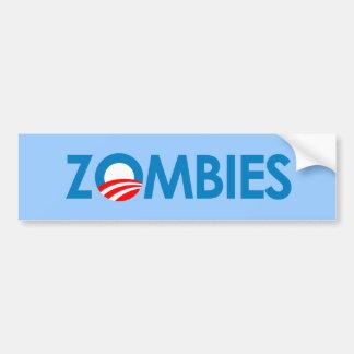Anti-Obama - Zombies Bumper Sticker