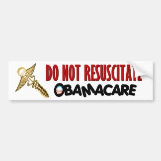 Anti ObamaCare Car Bumper Sticker