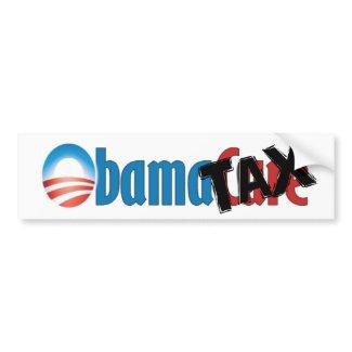 Anti ObamaCare - ObamaTax Bumper Sticker