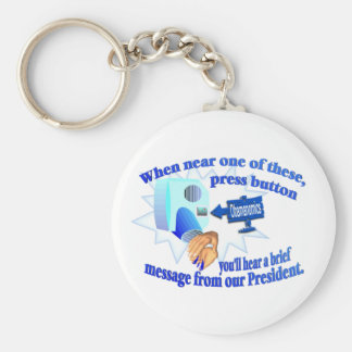 Anti Obamanomics – Obamanomics is Hurting America! Keychain