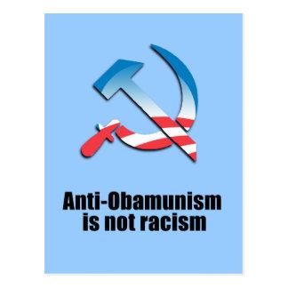 Anti-Obamunism is not racism Postcard