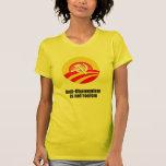 Anti-Obamunism is not racism Tee Shirts