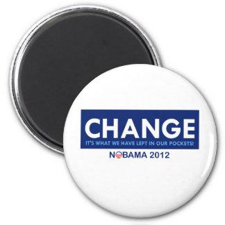 Anti Obanma: Change 2 Inch Round Magnet