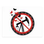 Anti Oil Exploitation Postcard