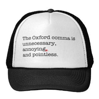 Anti-Oxford Comma Trucker Hat