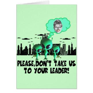 Anti Palin Card